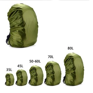 Rain Cover Backpack 35L 45L 50L-60L 70L Waterproof Bag Camo Tactical Outdoor Camping Hiking Climbing Dust Raincover