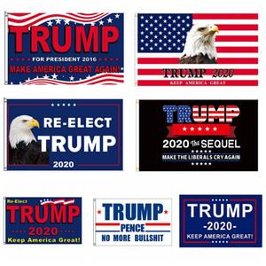 90 * 150cm Trump 2020 Flag Halten Sie Amerika große Präsident Kampagne Banner Donald Trump Startseite Party Decor Garden Flags HHA11329
