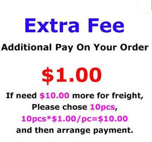 Denge Ücreti sadece ekstra düzenin maliyet özelleştirme adı veya ekstra yama veya speciall boyutu, 1 Piece = 1USD için