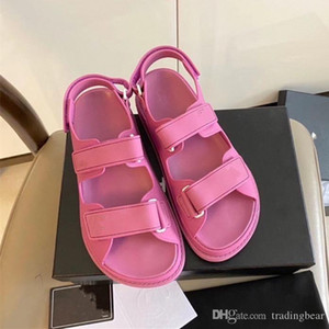 branded shoes boutique pink magic stick waterpoof beach shoes casual style designer sandals luxury women fashion shoes size 35 to 41