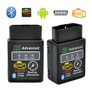 Автомобильный диагностический инструмент Авто сканер ELM327 Bluetooth OBD2 сканер Последние V2.1 диагностический инструмент Advanced OBDII Auto Code Reader