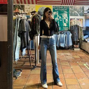 Slim Jeans Flare Retro Mens Remake Gallery Classic Pants Jeans Fashion Brand High Denim Dept Street Designer Spjuq