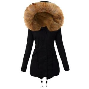 2020 Parka Women Jacket Women Winter Coat Warm Hooded Parka Female Jacket Long Coat Parkas Free Shipping#J30