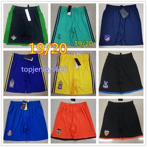 19 20 mens pantalones cortos tigres UANL fútbol shorts 2019 2020 betis Valencia pantalones cortos de fútbol espanyol real betis real madrid Shorts de futbol tamaño de Europa S-XL