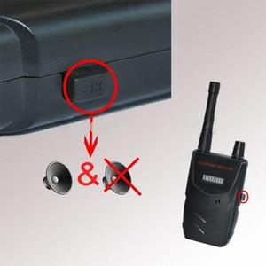 Teléfono celular del detector de RF inalámbrico Buster del móvil inalámbrico de frecuencia de señal wifi de la cámara del buscador del detector de alarma Bug envío rápido