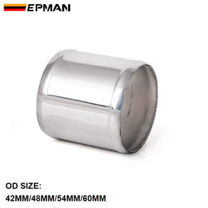 EPMAN - Universal Alumínio Intercooler Intake Tubo Turbo Tubo Tubo mangueira OD: 42mm / 48mm / 54mm / 60mm L = 76mm