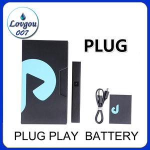 Plug Play Pod Battery 500mAh Battery Vape Pens System Device Suite 1.0ml Exotics vacíos para 510 cartuchos de aceite grueso