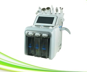 spa salon use 6 in 1 new oxygen facial rejuvenation lifting oxygen facial dermabrasion acne treatment machine for sale