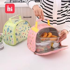 Multifunctional color Mummy bag shoulder shoulder portable lunch bag small fresh preservation heat preservation lunch
