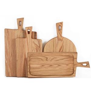 Cuisine Billots pain palette avec poignée de cuisson Planche à découper en bois pain service gros plateaux