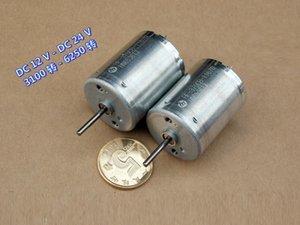 4 PCS Mabuci RF370-11670 12-24VDC / 3100-6250 RPM Alta Qualidade Micro DC Motor Quiet Long Life