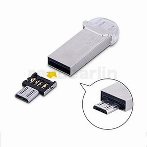 500 UNIDS Mini USB Flash Disk U Disk 5pin Micro USB OTG Cable adaptador convertidor para Xiaomi HTC Samsung HuaWei Tablet