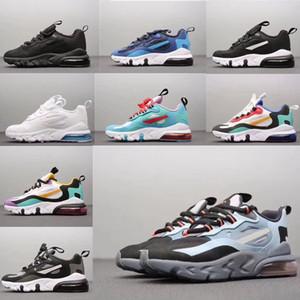 Infantis Crianças 27C Walking Running Shoes 270 Reagir Bauhaus Fantasma Vermelho Ouro Big crianças pequenas Atlético Sapatilhas Rapazes Meninas Casual Sports Shoes