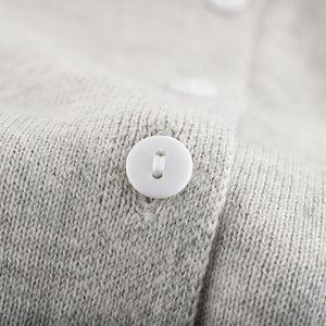 Kids Girl Boy Crewneck Lightweight Button-up Cardigan Cotton Knit Sweater Casual Outerwear School Uniforms Cardigans