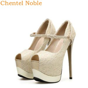 Sexy Fashion Chentel Platform High Heels Spring Woman Luxurious Party Dress Buckle Shoes For Women Pumps Two Style