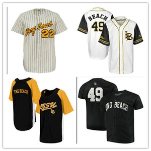 Personal NCAA Long Beach State 49er Colosseum Batter Up Baseball Men Women Youth Any Number Name Stitched Baseball Jerseys S-4XL