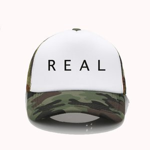 NF Real Print print Baseball caps men Women cool Summer Mesh Trucker cap adjustable snapback hats