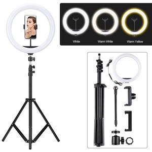12-дюймовый телевизор LED Ring Light Bracket Фото Лампа красоты селфи Tremolo фотография лица Лампа штатив