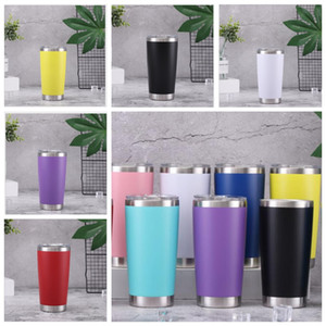 20oz Cups Tumblers Stainless Steel 13 Colors Outside Travel Vacuum Insulated Coffee Water Bottles 600ml Double Wall Cups