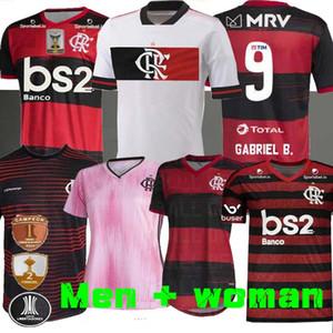 20 21 Flamengo Maglia 2020 2021Flemish DIEGO DE ARRASCAETA RIBEIRO maglie calcio GABRIEL B. Henrique Libertadores calcio sport DONNA