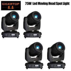 4XLot 75W LED Spot Moving Head lumières DJ Controller pour scène Bar Disco Party DJ mariage Livraison gratuite DMX 512 Fonction 90V-240V