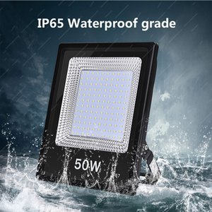 50W LED Flood Lights solar led Super Bright Outdoor Work Light IP67 Waterproof Outdoor Floodlight for Garage Garden Lawn and Yard