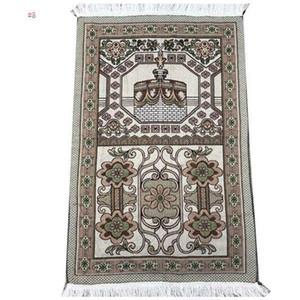 Islamic Muslim Prayer Mat 70*110 Saudi Arab Turkish Dubai Prayer Rug Home Wear Ramadan Cotton Soft Blanket Carpets Mats