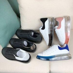 Nouveau cristal Bas Chaussures Casual Hommes Femmes Plateforme Chaussures en cuir solide Sneaker tendance plate-forme de marche Formateurs Chaussures