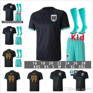 Man and Kids Kit 2020 2021 maillots de football Autriche 20 21 Alaba Arnautovic Sabitzer Grillitsch chemisettes équipe nationale de football chemises de loin