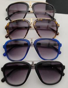 NO BOX 무료 배송 UV400 안경 검은 태양 안경을 순환 CAR 선글라스 여성 패션 금속 선글라스를 운전하는 여름 남자 해변 여성