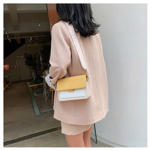 Bolsas de ombro saco feminino 2021 Moda pequena bolsa de senhoras quadradas messenger