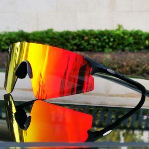 UV400 lentes polarizadas ciclismo Gafas para hombre Gafas de deporte al aire libre gafas de sol para la conducción de pesca que abarca gafas con caja