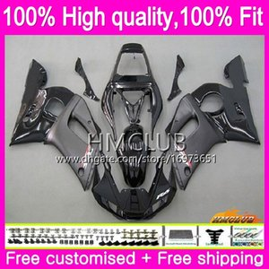 Injection For YAMAHA YZF R6 R 6 YZF600 YZF 600 YZF-600 Stock black 80HM.5 YZF-R6 YZFR6 98 99 00 01 02 1998 1999 2000 2001 2002 OEM Fairing