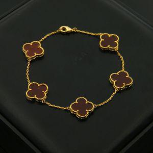 Лучшие браслеты из латуни с цветком в 5Pcs природы камня для женщин и мужчины свадебного подарка ювелирных изделий Бесплатной доставка PS5273
