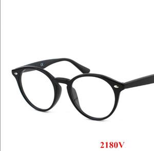 2020 nouvelle haute qualité rétro 2180 monture de lunettes rondes monture de lunettes de prescription pure bord, importés lunettes de soleil housse de protection