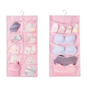 New Multicolor Oxford cloth Hanging Storage Bag 3 tasche parete armadio guardaroba appeso a parete sacchetto cosmetici giocattoli organizzatore