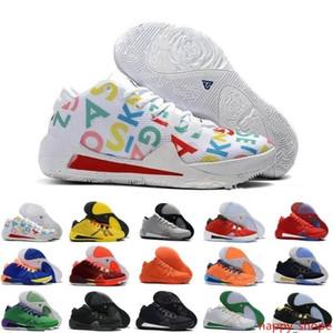 Nouveautés ZOOM grec Freak 1 Yánnis Antetokoúnmpo Noir Or Orange GA I 1S Signature Mens Basketball chaussures Trainer GA1 Chaussures de sport