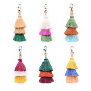 Симпатичные личности богемный брелок аксессуары женская мода подвесная сумка висит ключевые ссылки 6 цветов бесплатная доставка