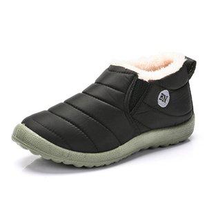 Men Winter Shoes For Men Winter Sneakers Waterproof Snow Boots Warm Fur Zapatillas Hombre Casual Shoes Men's footwear