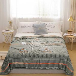 Yatak örtüsü Fanila Koltuk Yumuşak Coral Polar Sac Kış Grey 200gsm 12 Boyut Işık İnce Mekanik Wash Isınma atın Blanket
