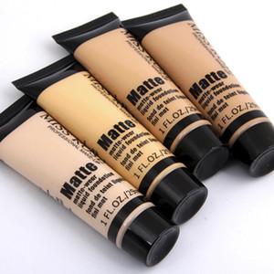 MISS ROSE Профессиональный базовый матовый жидкий тональный крем для макияжа Водостойкий корректирующий тональный крем для лица Ремонт косметики для лица