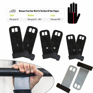 Захваты Cross Fit Гимнастика Рукоятка Рукоятка для ладоней Кожаные перчатки Перчатки для поднятия тяжестей