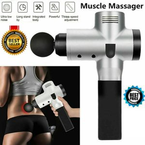 Tissue Muscle Massage Gun Sport Therapy Massager Body Relaxation Vibrador Theragun Pain Relief Massager Machine Free Shipping