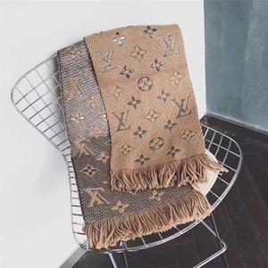 De gama alta los hombres y las mujeres otoño e invierno lana chales de la borla del diseño 180 * 30cm de la marca puede ser mayor