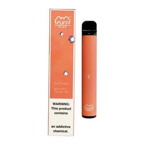 Слоеное Bar Plus Одноразовые Vapes устройства Pod Kit 800 puffbars 3,2 мл Картриджи Vape Слейте Pen Vape Корзина Упаковка электронной сигареты.