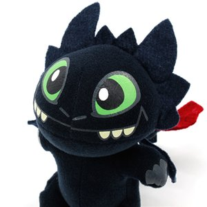 2019 Plush Keychains New Moive How to Train Your Dragon 3 Toothless Light Fury Night Fury Plush Stuffed Doll Toys