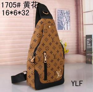 Yüksek kaliteli el yapımı moda erkek sapan çanta çapraz vücut messenger çanta birçok renkleri açık kadın bel çantası paketi göğüs çanta ücretsiz gönderim 7735