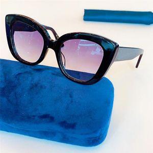 new women luxury designer sunglasses Leisure Best Quality Most Popular Vintage Fashion Brand Design Cat's eye Sunglass 0327SS