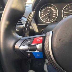 Dry Carbon-Faser-Lenkrad Ersatzschaltwippe Schaltgabel für BMW F / G Chassis