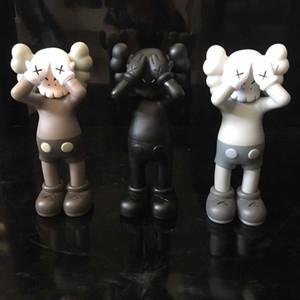 KAWS, проходящие через кукла 27 см. Лицо Prototype Companion Street Art вместе Брайан Оригинальные поддельные произведения искусства подарок KAWS Действия